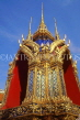 THAILAND, Bangkok, GRAND PALACE (Wat Phra Keo), gilded and mosaic encrusted on shrine, THA1975JPL