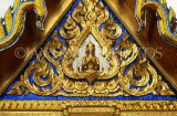 THAILAND, Bangkok, GRAND PALACE (Wat Phra Keo), gold lacqured detail on buildings, THA1803JPL