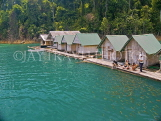 THAILAND, Khao Sok National Park, floating rafthouses, Emerald Chao Larn Lake, THA1962JPL