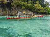 THAILAND, Koh Lipe Island, kayakers paddling in shallow sea, THA2080JPL