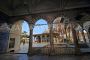 TURKEY, Istanbul, Topkapi Palace, Fouth Courtyard, view toward Baghdad Pavilion, TUR1144PL