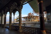 TURKEY, Istanbul, Topkapi Palace, Fouth Courtyard, view toward Baghdad Pavilion, TUR1145PL