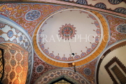 TURKEY, Istanbul, Topkapi Palace, Imperial Council Chamber, ceiling and dome, TUR1078PL