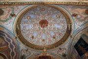 TURKEY, Istanbul, Topkapi Palace, Imperial Council Chamber, ceiling and dome, TUR1080PL