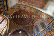 TURKEY, Istanbul, Topkapi Palace, The Harem, Imperial Hall, dome and ceiling, TUR1039PL