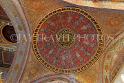 TURKEY, Istanbul, Topkapi Palace, The Harem, Imperial Hall, dome and ceiling, TUR1040PL