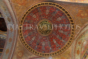 TURKEY, Istanbul, Topkapi Palace, The Harem, Imperial Hall, dome and ceiling, TUR1041PL