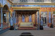 TURKEY, Istanbul, Topkapi Palace, The Harem, Imperial Hall, with Sultan's throne, TUR1032PL