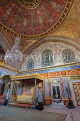 TURKEY, Istanbul, Topkapi Palace, The Harem, Imperial Hall, with Sultan's throne, TUR1037PL