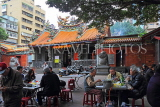 Taiwan, TAIPEI, Cisheng Temple, and food court in temple courtyard, TAW1362JPL