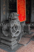 Taiwan, TAIPEI, Cisheng Temple, stone carved lion, TAW1372JPL