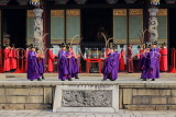Taiwan, TAIPEI, Confucius Temple, and ancient ritual ceremony being performed, TAW1091JPL