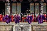 Taiwan, TAIPEI, Confucius Temple, and ancient ritual ceremony being performed, TAW1096JPL