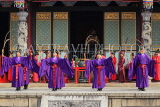 Taiwan, TAIPEI, Confucius Temple, and ancient ritual ceremony being performed, TAW1101JPL