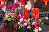 Taiwan, TAIPEI, Lungshan Temple, floral offerings, TAW655JPL