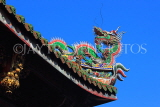 Taiwan, TAIPEI, Lungshan Temple, rooftop carvings, TAW677JPL
