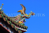 Taiwan, TAIPEI, Lungshan Temple, rooftop carvings, TAW680JPL