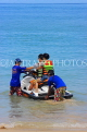 Thailand, PHUKET, Patong Beach, holidaymakers getting ready to Jet Ski, THA4042JPL