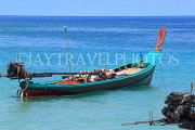 Thailand, PHUKET, Patong Beach, longtail boat for sea tours, THA4089JPL