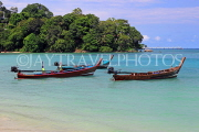 Thailand, PHUKET, Patong Beach, longtail boats for sea tours, THA4086JPL