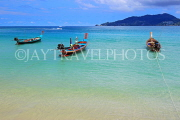 Thailand, PHUKET, Patong Beach, longtail boats for sea tours, THA4087JPL