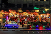Thailand, PHUKET, Patong Beach area, restaurant front, night view, THA4168JPL