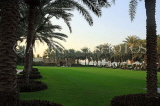 UAE, DUBAI, One & Only Royal Mirage Hotel, gardens and palm trees, UAE556JPL