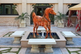 UAE, DUBAI, One & Only Royal Mirage Hotel, horse sculpture, UAE551JPL