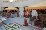 UAE, DUBAI, One & Only Royal Mirage Hotel, outdoor lounging areas, UAE558JPL