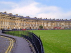 UK, Avon, BATH, Royal Crescent (Georgian architecture), UK5972JPL