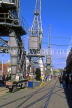UK, Avon, BRISTOL, Bristol Docks, Old Industrial Heritage Cranes, UK5463JPL