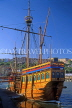 UK, Avon, BRISTOL, Bristol Docks and Harbour, replica of The Matthew, UK5469JPL