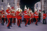UK, Berkshire, WINDSOR CASTLE, Changing of the Guard, Regimental Band, UK5389JPL