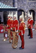 UK, Berkshire, WINDSOR CASTLE, Changing of the Guard, Regimental Band, UK5390JPL