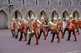 UK, Berkshire, WINDSOR CASTLE, Changing of the Guard, Regimental Band, UK6034JPL