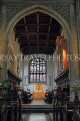 UK, Cambridgeshire, CAMBRIDGE, Great St Mary's Church, interior, stained glass window, UK34988JPL