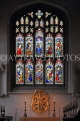 UK, Cambridgeshire, CAMBRIDGE, Great St Mary's Church, stained glass window, UK34990JPL
