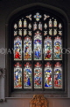 UK, Cambridgeshire, CAMBRIDGE, Great St Mary's Church, stained glass window, UK34991JPL