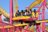 UK, Essex, Southend-On-Sea, Adventure Island, Rage roller coaster ride, UK6813JPL