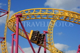 UK, Essex, Southend-On-Sea, Adventure Island, Rage roller coaster ride, UK6814JPL