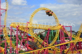 UK, Essex, Southend-On-Sea, Adventure Island, Rage roller coaster ride, UK6819JPL