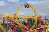 UK, Essex, Southend-On-Sea, Adventure Island, Rage roller coaster ride, UK6820JPL