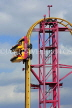 UK, Essex, Southend-On-Sea, Adventure Island, Rage roller coaster ride, UK6823JPL