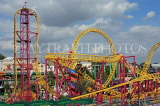 UK, Essex, Southend-On-Sea, Adventure Island, Rage roller coaster ride, UK6825JPL