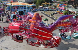 UK, Essex, Southend-On-Sea, Adventure Island, Scorpion ride, UK6843JPL