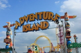 UK, Essex, Southend-On-Sea, Adventure Island, entrance sign, UK6827JPL