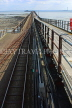 UK, Essex, Southend-On-Sea, Southend Pier, and rail track, UK6876JPL