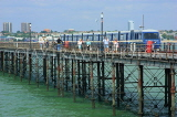 UK, Essex, Southend-On-Sea, Southend Pier, and train, UK6870JPL