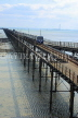 UK, Essex, Southend-On-Sea, Southend Pier, and train, UK6871JPL