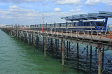 UK, Essex, Southend-On-Sea, Southend Pier, and train, UK6879JPL